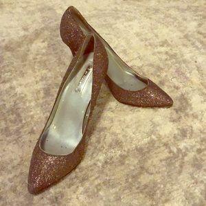 H by Halston glitter heels 👠